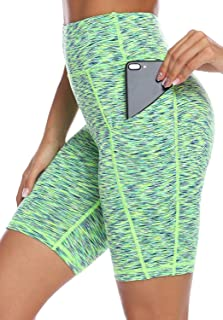 High Waist Yoga Shorts Workout Running Athletic Non See-Through Yoga Pants