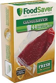 FoodSaver GameSaver 1 Quart Vacuum Seal Bag with BPA-Free Multilayer Construction, 44 Count