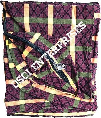 OSCI ENTERPRISES Jacquard Heavy Quality Mattress Cover (All Customized Multi-Color + 1 Kitchen Cloth Napkin (72X36X4)