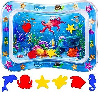 Vattenlekmatta, babyleksak och småbarn, aktivitetslekcenter, används för att växa hjärnan hos pojkar och flickor, lämplig ...
