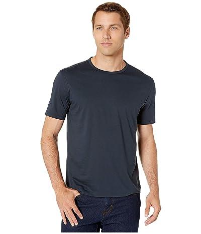 John Varvatos Collection Regular Fit Short Sleeve T-Shirt (Navy) Men