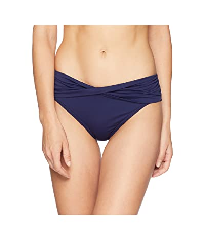 Tommy Bahama Pearl High-Waist Twist Front Pant (Mare Navy) Women