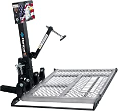 Harmar Mobility Upgraded AL100 Universal Scooter Lift Outside Fully Automatic Carrier with Hitch Adapter