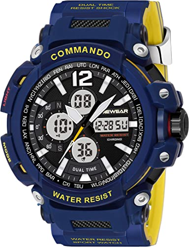 Commando Series Analog Digital Sports Watch For Men