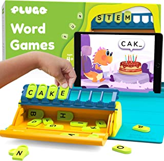 Plugo Letters by PlayShifu - Word Building with Phonics, Stories, Puzzles | 5-10 Years Educational STEM Toy | Interactive ...