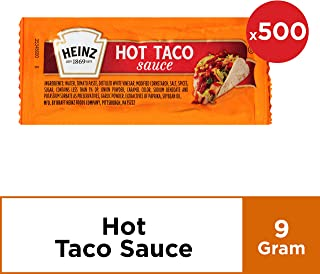 Heinz Hot Taco Sauce (0.31 oz Packets, Pack of 500)