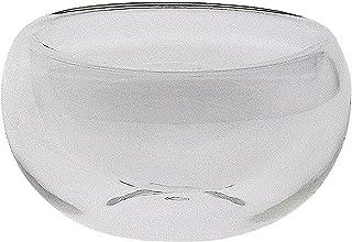 12 pcs Double Wall Clear Glass Teacups Set - 30ml