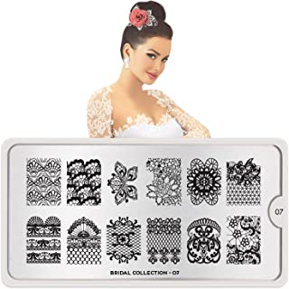 MoYou-London Nail Art Image Stamping Plate Bridal Collection 07 US Stock Shipping within 24h