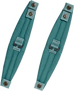 Fjallraven - Kanken Shoulder Pads for Backpacks, Frost Green