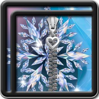 Zipper Lock Screen Diamond
