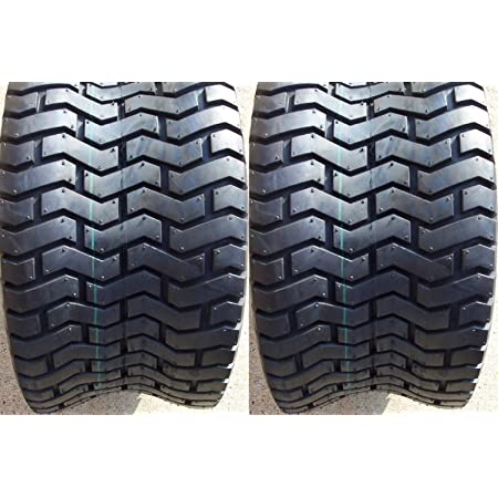 SET OF TWO (2) DEESTONE 23X8.50-12 23X8.50X12 4 Ply Rated Tubeless Turf Tires