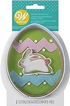 Metal Cookie Cutter 2/Pkg-Egg, Mini Bunny