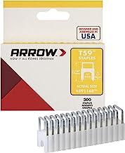 Arrow A591168 591168 nietjes, zilver, x 6 mm x 6 mm