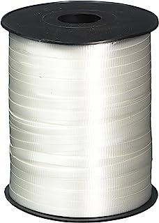 GIFTEXPRESS 500 Yards White Curling Ribbon/Balloon Ribbon/Balloon Strings/Gift Wrapping Ribbons Supplies