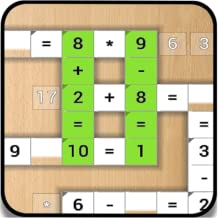 Cross Numbers - Cross Equate - math game