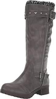 Women's Quickster Studded Sweater Lined Mid Calf Riding Boot