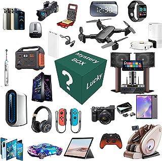Mystery box, elektronische blinde doos willekeurig, bevat onverwachte geschenken, zoals drones, slimme horloges, gamepads,...