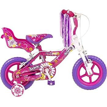 Sonic Daisy Girls - Bicicleta para niña, tamaño XL, color blanco ...