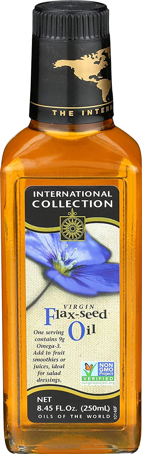 International Collection 67% OFF of fixed price Virgin Flax Pack 8.45-Ounces Oil New product Seed