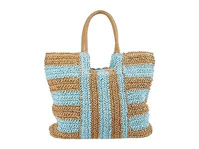 Billabong In Living Color Tote (Vista Blue) Handbags