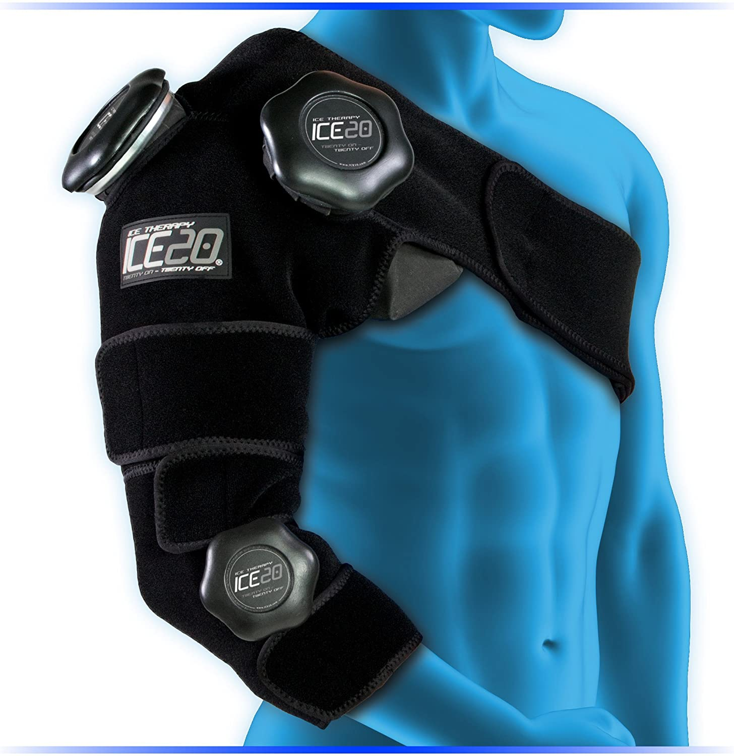 Some Los Angeles Mall reservation Bownet ICE20 Combo Arm and Shoulder a Refillable Ice Wrap - Pack