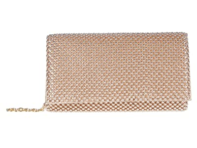 Jessica McClintock Cassie (Rose Gold) Clutch Handbags