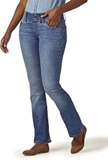 Women's Pull On Waist Smoother Boot Cut Jean