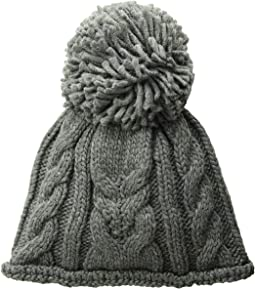 60beba5acac37 Ugg nyla cable beanie with lurex and pom black m