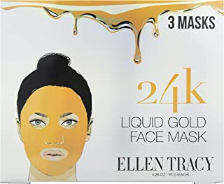 ellen tracy 24k gold mask