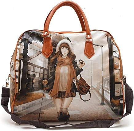 HappenWell Women's Digitally Printed Polyester Casual Hand Bag Hobo Handbag Stylish Handbag for Girls & Women (Multi-Color)
