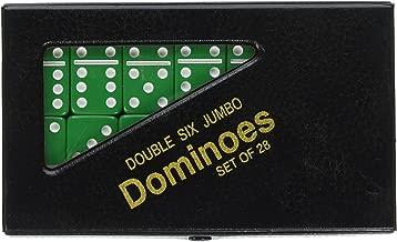 Double 6 Jumbo Dominoes - Green