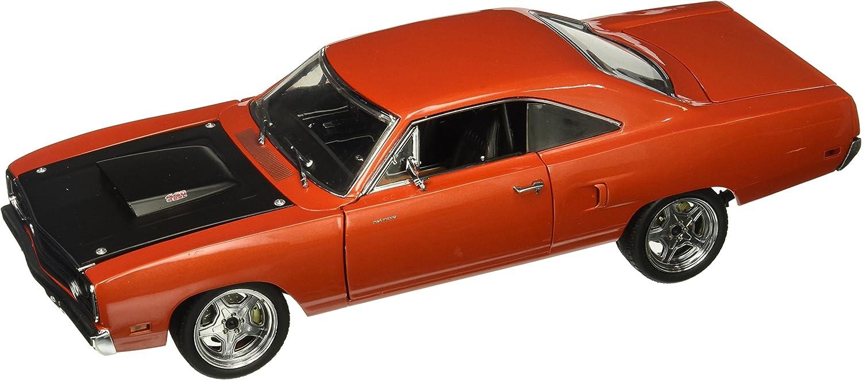 Plymouth Road Runner, Kupfer Schwarz, 1970, Modellauto, fertig konfektioniert, GMP 1  18