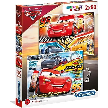 Clementoni- Disney Cars-60 Supercolor Puzzle 60 Piezas ...