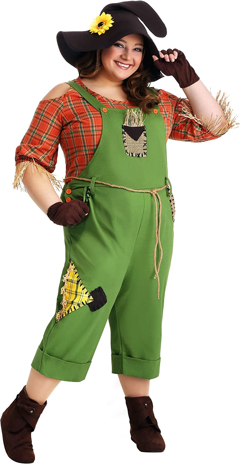 Finally resale start Plus Size Scarecrow Costume At the price of surprise for Classic Outfit A Women