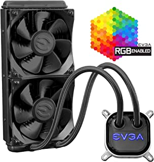 EVGA CLC 240 Liquid/Water CPU Cooler, RGB LED Cooling 400-HY-CL24-V1
