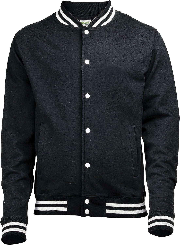 Awdis Max National uniform free shipping 80% OFF Mens College Jacket Black L Jet