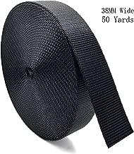 RETON Black Heavy Polypro Webbing Strap