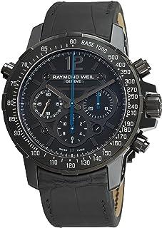 Raymond Weil - 7810-BSF-05207 - Reloj para Hombres, Correa de Cuero Color Negro