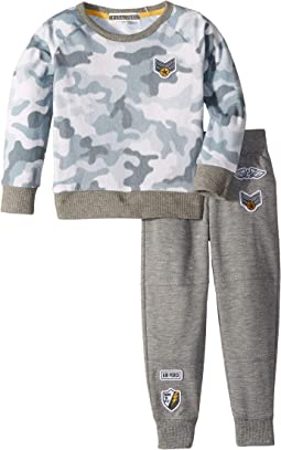 Camo Cool PJ Set (Toddler/Little Kids)