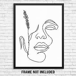 girl face abstract art
