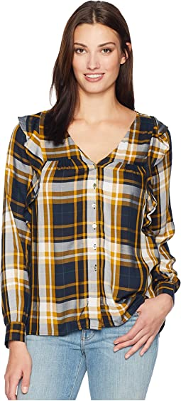 Pangra Plaid Blouse