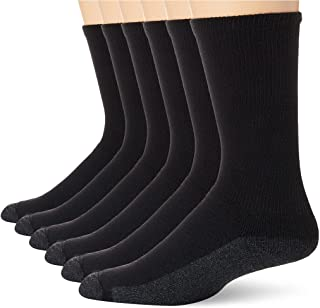 Hanes Men's Comfortblend Max Cushion Crew Socks 6-Pack