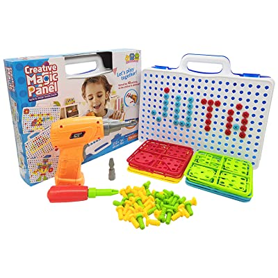Juta Kids Building Block Games Tool Set for Boy...
