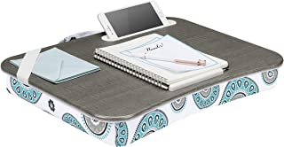 LapGear Designer Lap Desk with Phone Holder and Device Ledge - Medallion - Fits up to 15.6 Inch Laptops - Style No. 45425