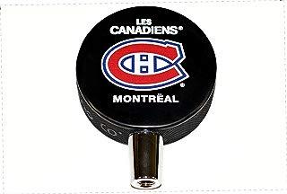 EBINGERS PLACE Montreal Canadiens Basic Logo Hockey NHL Puck Beer Tap Handle