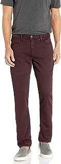John Varvatos Star USA Men's Bowery Slim Straight Fit-Reactive Pigment Wash
