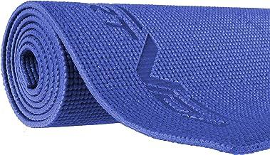 SportVida Yogamat, dun, antislip, fitnessmat voor yoga, pilates, gymnastiekmat van schuimrubber, pvc, 173 x 60 cm, dikte ...