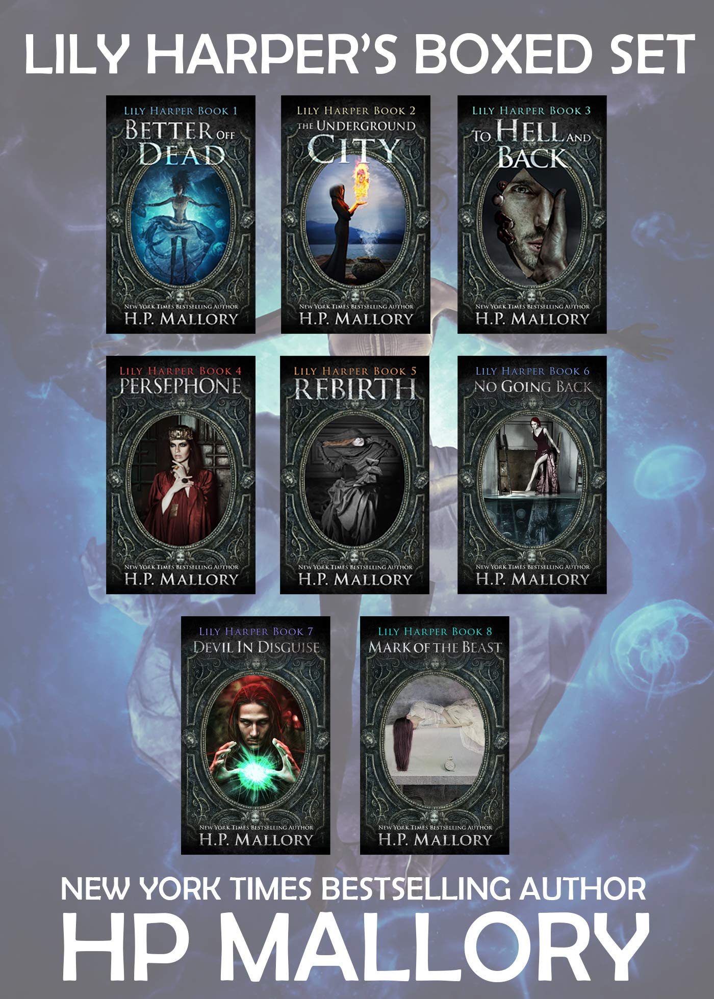 Lily Harper's 8 Book Boxed Set: An Epic Fantasy Series (The Lily Harper Series)