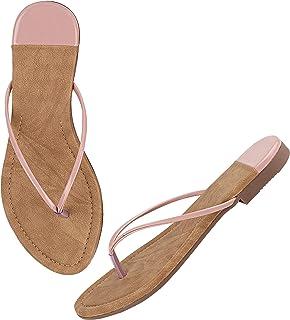 Do Bhai Stylish Slip On Flat Sandals For Girls