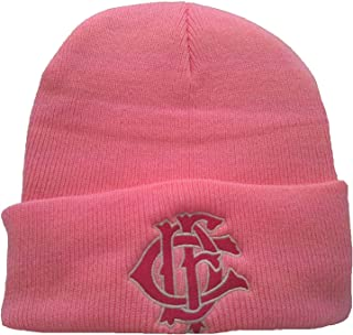 Chicago Fire Department Pink Letternest Cuffed Knit Cap